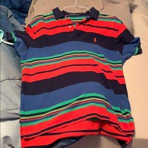 Large multi-colored polo